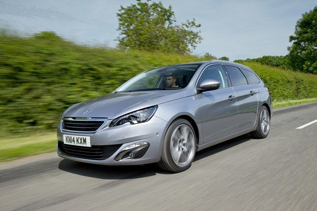 peugeot 308 sw 1 6 hdi test drive review. Black Bedroom Furniture Sets. Home Design Ideas