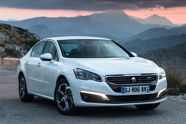 Peugeot 508 facelift 2014 review
