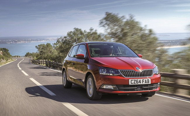 new skoda fabia test drive review. Black Bedroom Furniture Sets. Home Design Ideas