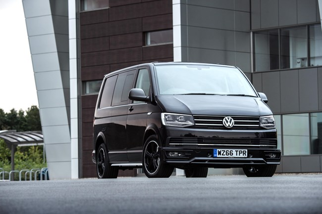 Volkswagen reveals sporty transporter variant volkswagen has announced it will launch a sportline version of its latest transporter panel van at the beginning of next year publicscrutiny Images