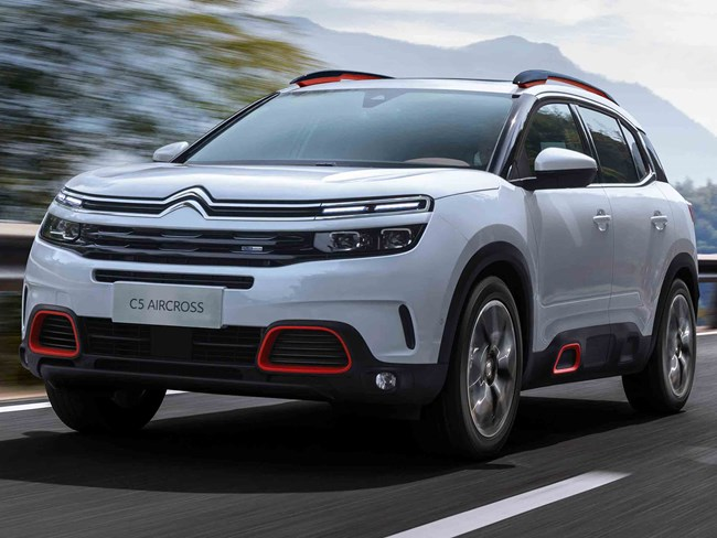 new citroen c5 aircross suv to debut at shanghai. Black Bedroom Furniture Sets. Home Design Ideas