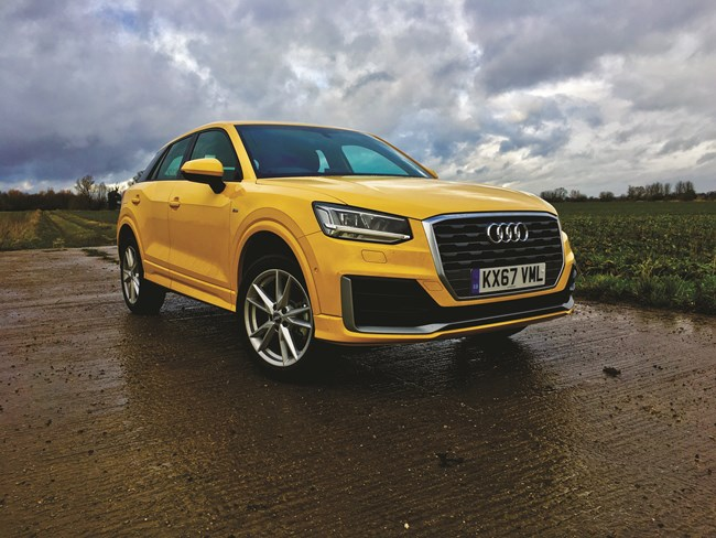 first report audi q2 1 4tfsi 150 s tronic s line. Black Bedroom Furniture Sets. Home Design Ideas