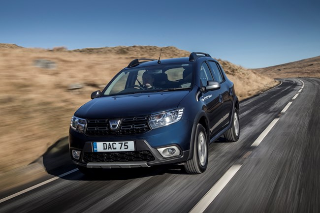 new equipment grades and engines for dacia sandero stepway. Black Bedroom Furniture Sets. Home Design Ideas