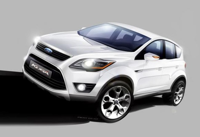 Ford S Small Off Roader To Be Named Kuga Will Be