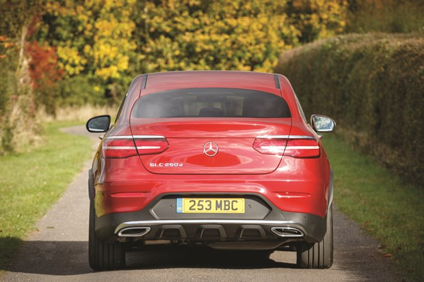 REAR Merc GLC Coupe 3