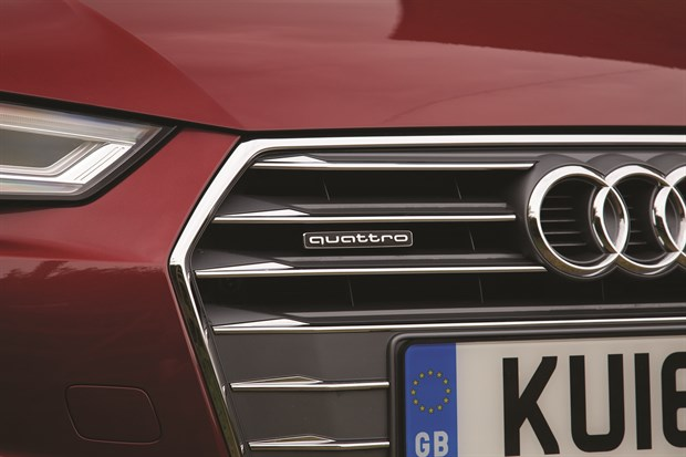 1. A4Avant Quattro Badge