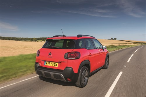 Citroen C3 Aircross rear