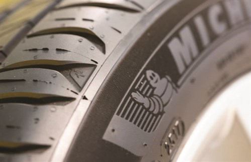 Michelin Tyre Close Up