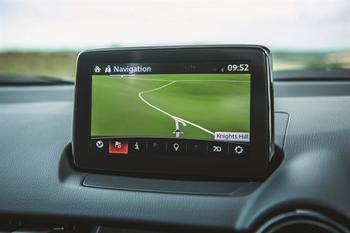 Mazda CX3 Screen