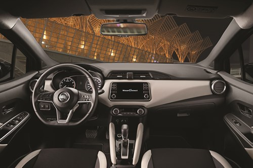 More Micra Live Event - Red M Icra Xtronic - Interior Details - Dashboard Copy