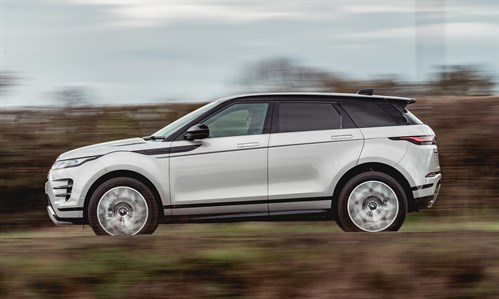 Range _Rover _Evoque Side