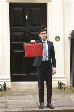 Rishi Sunak , Chancellor Of The Exchequer