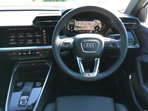 Audi A 3 Welcome Interior